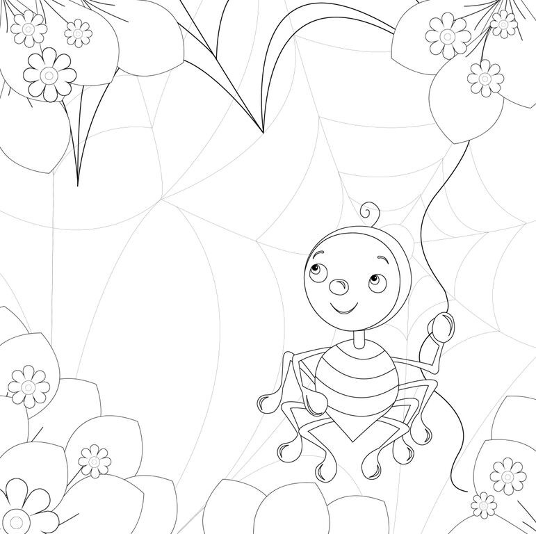 Join Our Spider Iggy Colouring In Competition