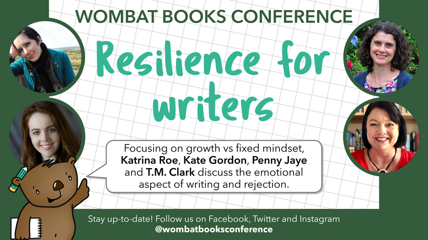 Conference Tiles Resilience for Writers